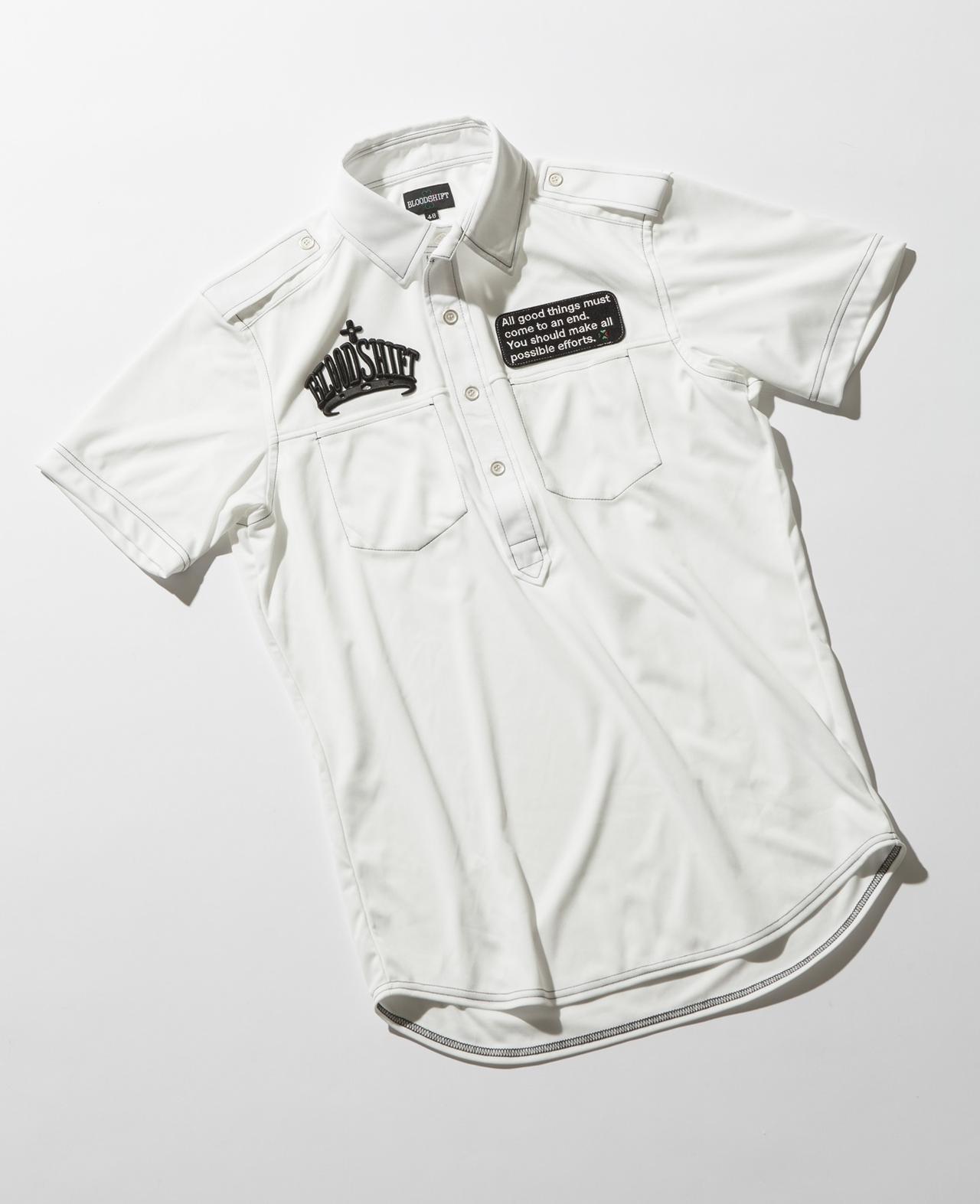 画像: 大きなロゴが主張するポロシャツ