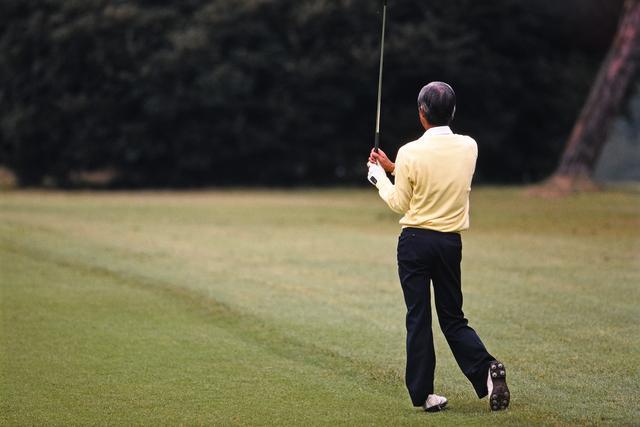 画像3: ゴルフは起こったことに鋭敏に反応せず…… アマ・ゴルフの世界 中部銀次郎「広野を往く」③