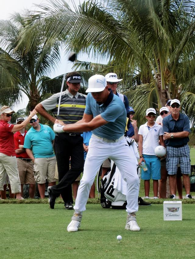 画像12: リッキー・ファウラーのココが凄い!PGAツアー スウィング超解説⑤