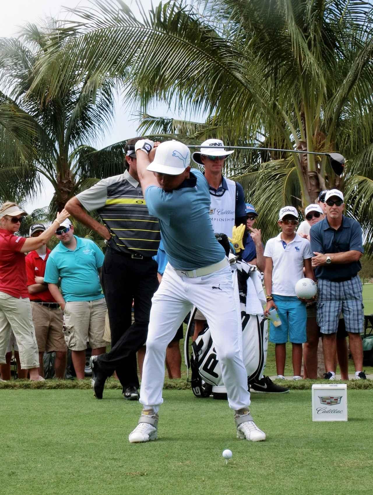 画像10: リッキー・ファウラーのココが凄い!PGAツアー スウィング超解説⑤