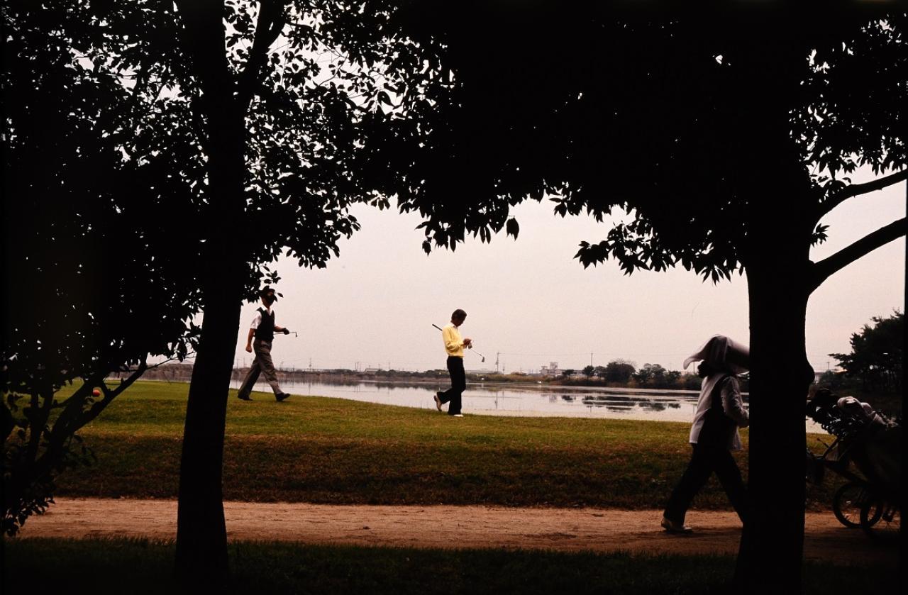 画像1: 大きなグリーンは上級者ほど乗せづらい。 アマ・ゴルフの世界 中部銀次郎「広野を往く」⑤