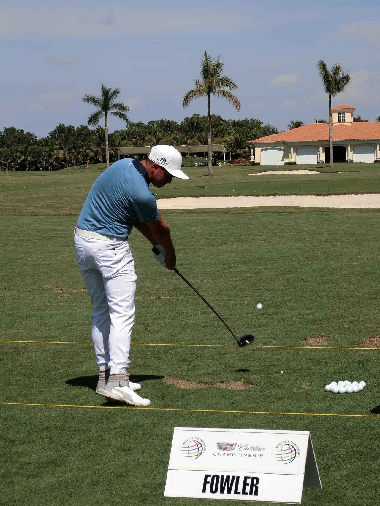 画像4: リッキー・ファウラーのココが凄い!PGAツアー スウィング超解説⑤
