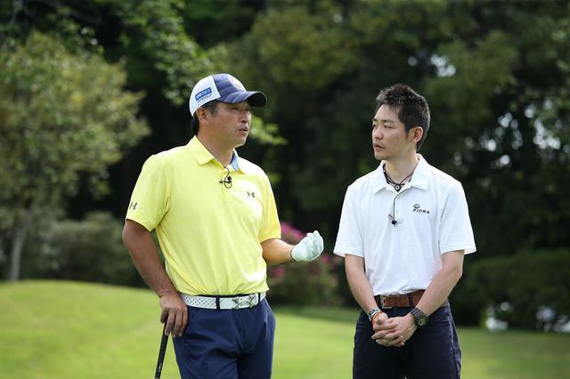 画像: 左:増田伸洋プロ 右:クラブアドバイザー小倉勇人さん