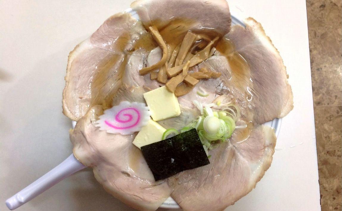 画像: チャーシュー麺750円。柏崎周辺のラーメン屋さんは大体これくらいが相場でした。