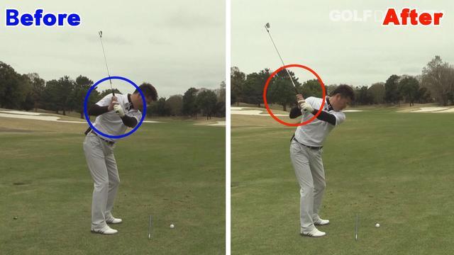 画像2: POINT2 身体と腕を同調させる