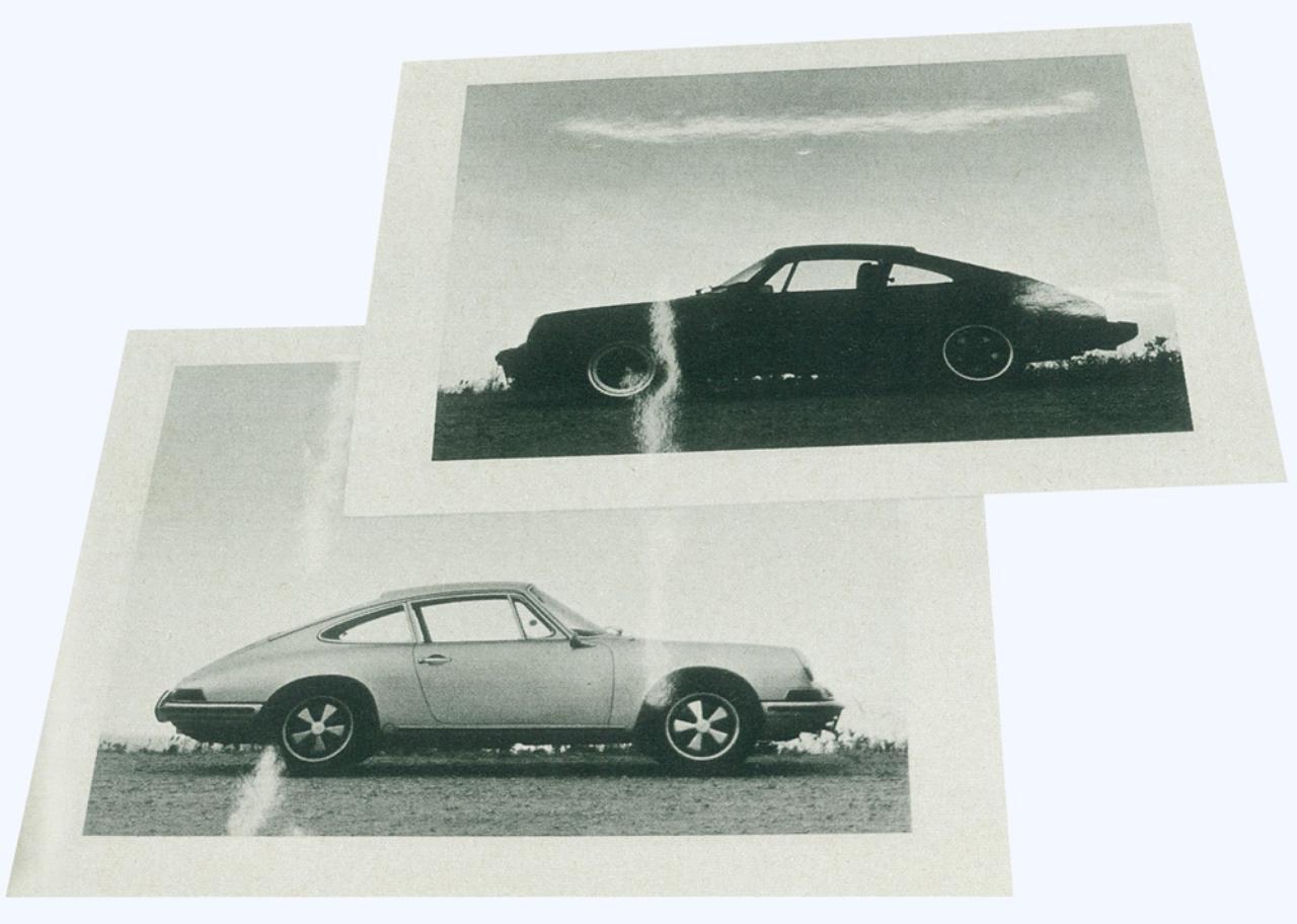 画像: 89年製(上)と64年製の初代ポルシェ。外見からはほとんどその差がわからないが、中身は大きく変わっている。