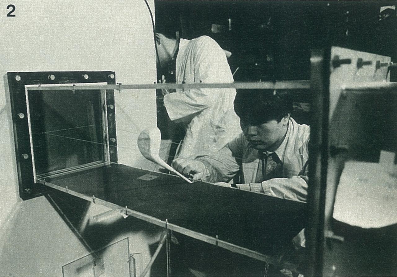 画像: いくつものサンプルを作り、東海大学で徹底した風洞実験が行われた。