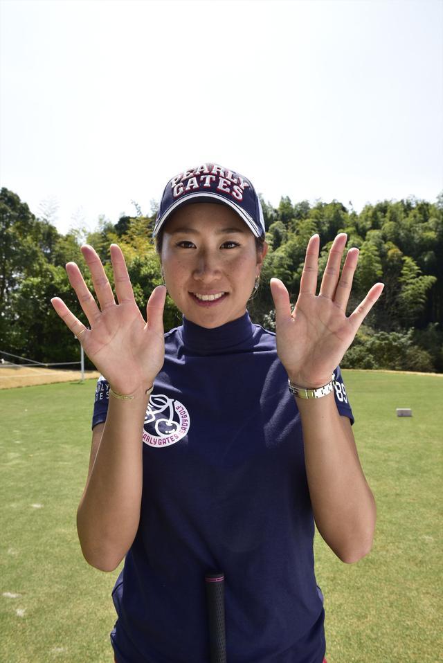 画像: 手を見せてくださいーというリクエストにこの笑顔