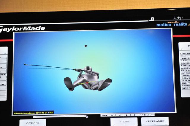 画像8: 凄すぎる!フィッティング事情。テーラーメイドは最新マシンでヘッドを決める