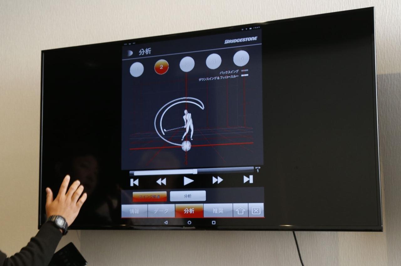 """画像: 凄すぎる!フィッティング事情。ブリヂストンのスタジオでスウィングの""""DNA""""が見えた! - みんなのゴルフダイジェスト"""