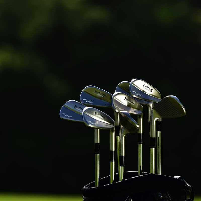 画像: 【月刊GD推奨】フォーティーンFH1000フォージドアイアン ゴルフダイジェスト公式通販サイト「ゴルフポケット」