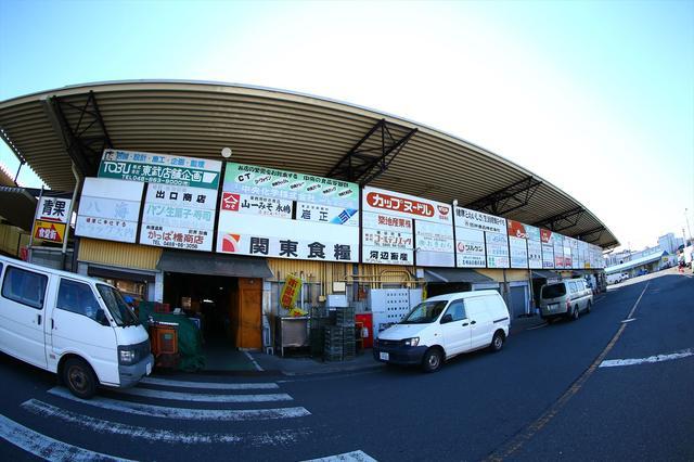 画像1: 大宮総合地方卸売市場で見つけた! 超でか盛りランチ