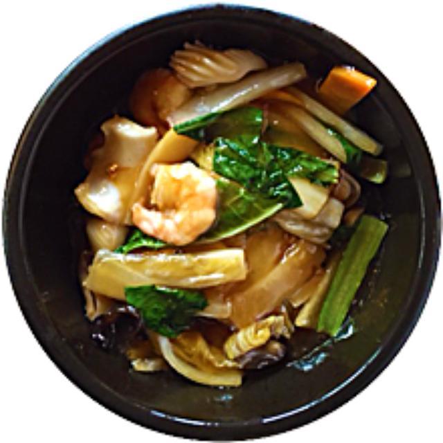 画像: 石焼海鮮あんかけ炒麺