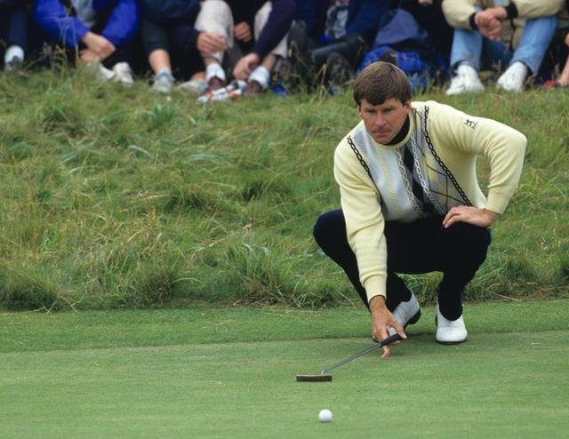 画像: 1987年の全英オープン。イングランドのニック・ファルドがメジャー初優勝。以後通算6勝(マスターズ3勝、全英3勝)を果たす