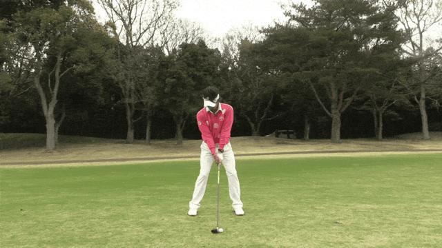 画像: 【動画】3番ウッドを上手く打つには 右ひざを左足に寄せる - みんなのゴルフダイジェスト