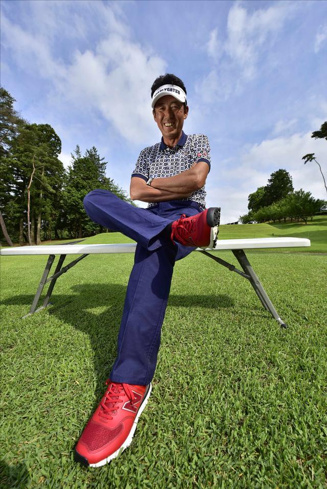 画像: オシャレは足元から(*^^)v芹澤信雄の「N」マーク - みんなのゴルフダイジェスト