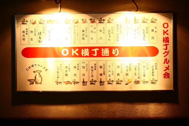 画像1: 荒川周辺三大飲み屋街 一杯目・赤羽駅前のオアシス「OK横丁」