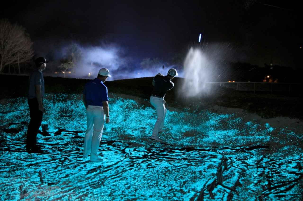 """画像: ミッドナイト・マスターズ?? 超一流選手たちによる""""夜ゴルフ"""" - みんなのゴルフダイジェスト"""