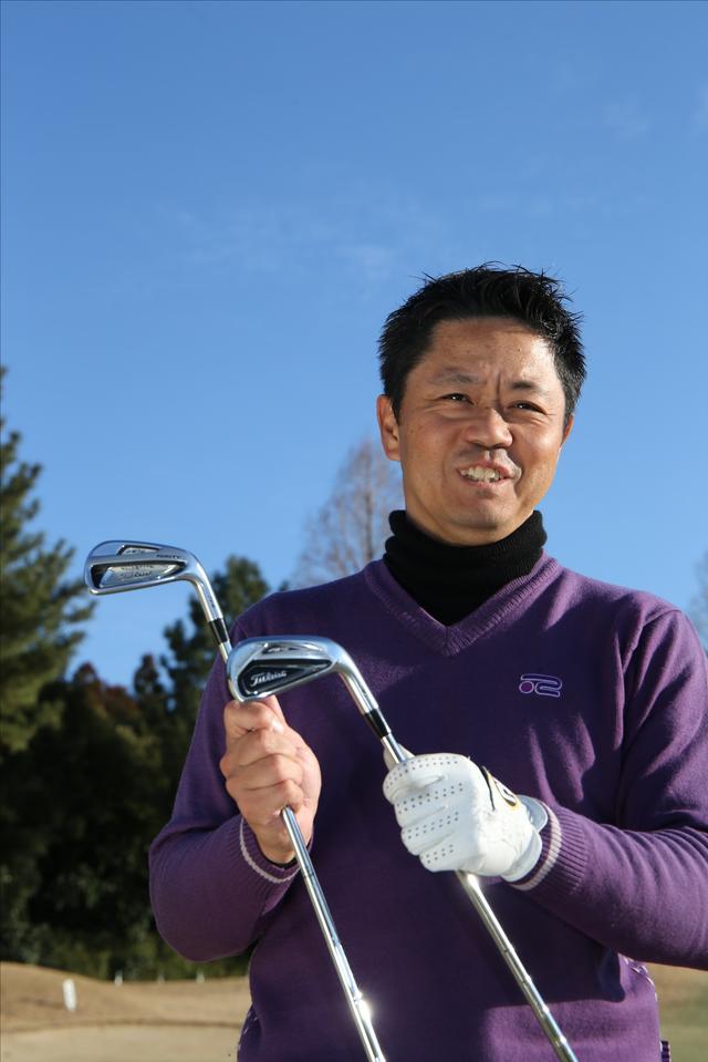 画像: キレ味するどいアイアンショットを武器に、ツアーで活躍する梶川武志プロ