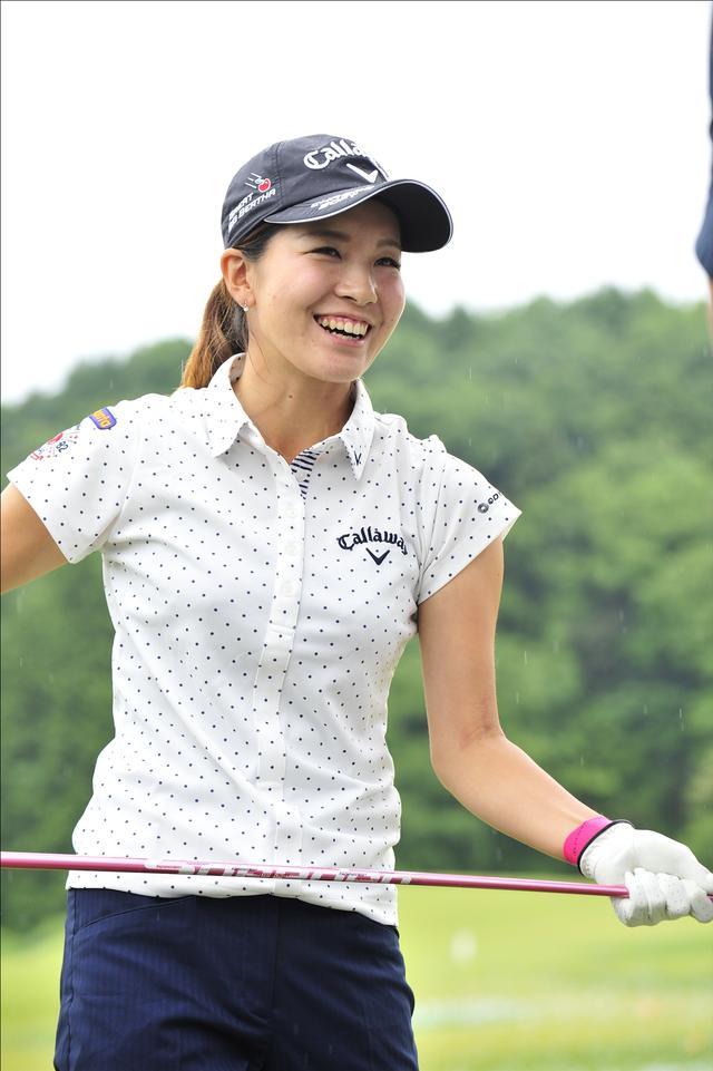 画像: 水玉のシャツが似合っていますね(*^_^*)