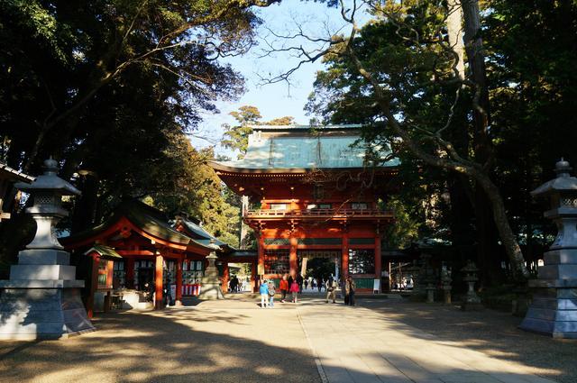 画像: 東国三社の一社で、武道の神様として信仰される鹿島神宮