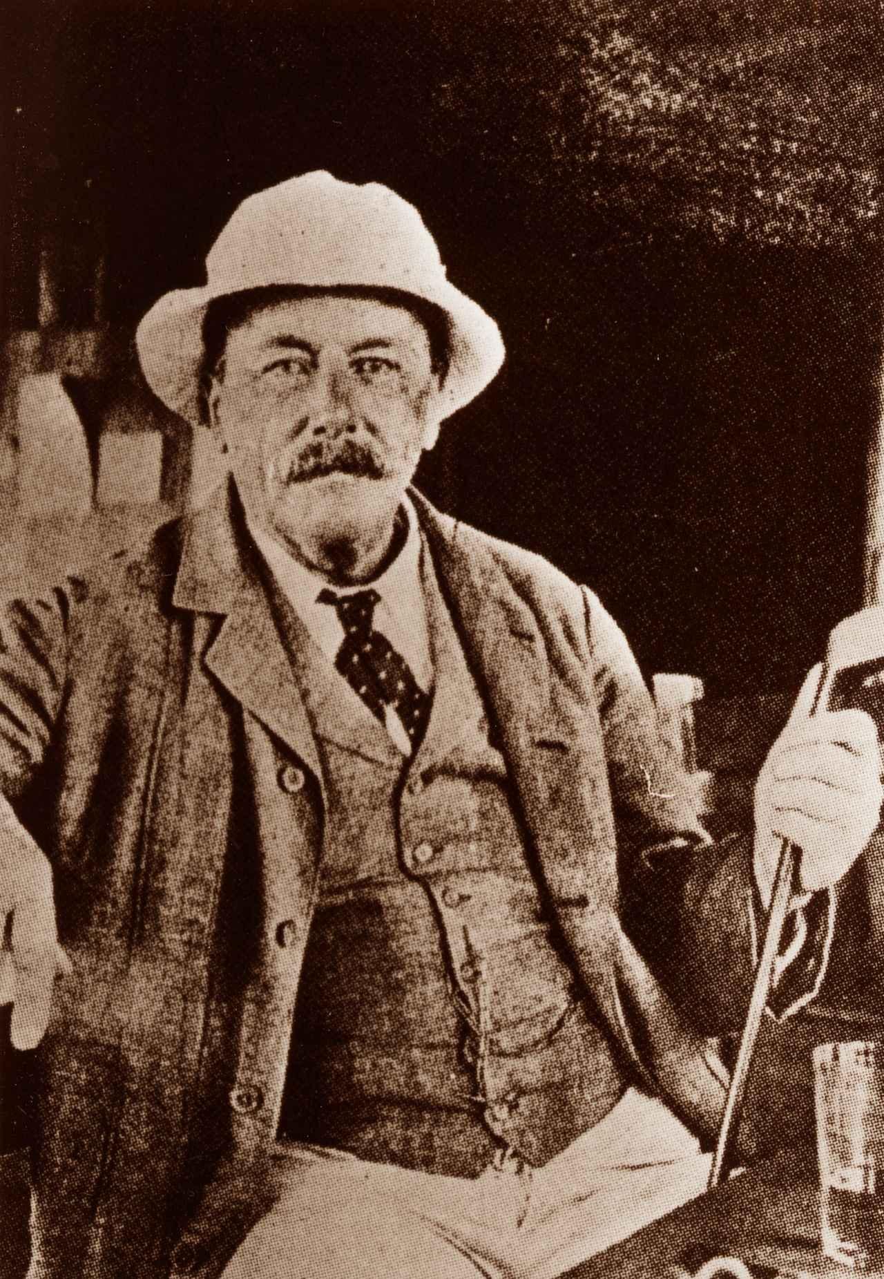 画像: 明治元年に22歳で来日した貿易商グルーム