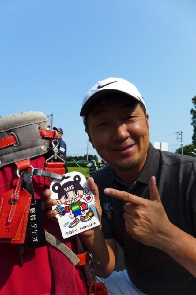 画像: 熊本地震チャリティのために書き下ろしたネームタグ