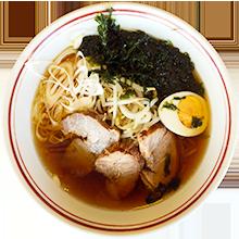 画像: 醤油ラーメン