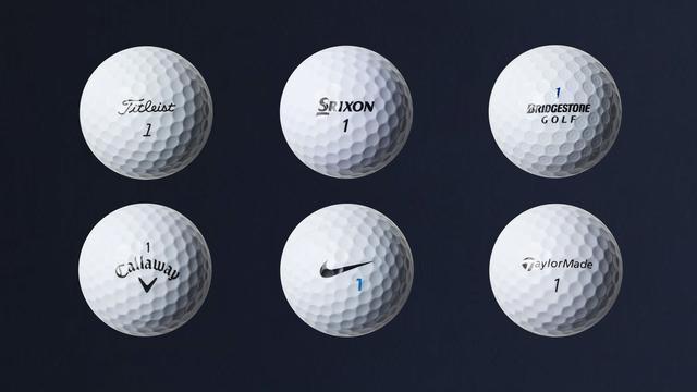 画像: 6種類のスピン系ツアーボール