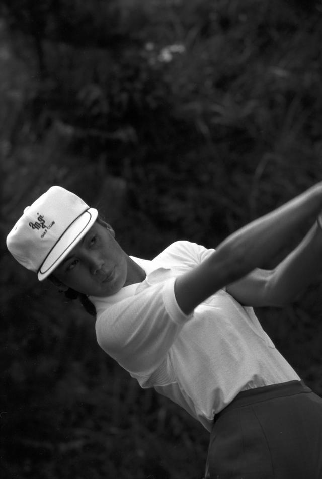 画像: 68年 日本女子プロでの樋口久子