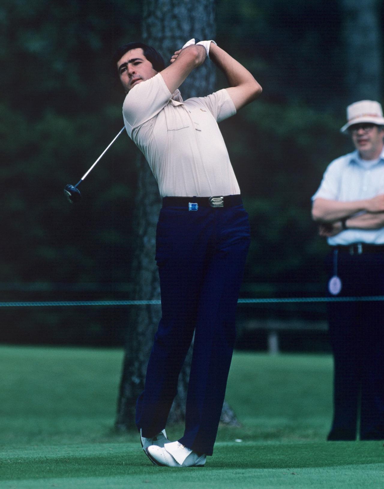 画像: 1980年、マスターズで優勝したセベ・バレステロス。当時の最年少優勝記録を更新した