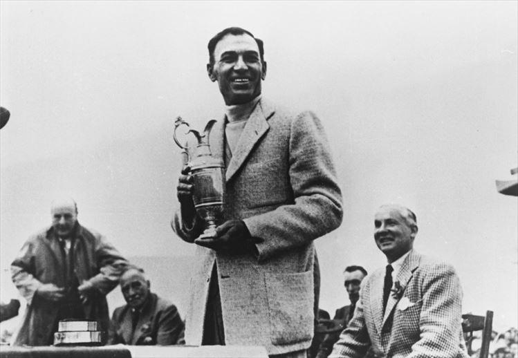画像: 写真は1953年・全英オープン優勝時の一コマ。この時、ホーガンは優勝賞金として500ドルを手にした。当時の為替レートに換算すると18万円、当時のニッポンサラリーマンの平均月収9か月分ほどだったようだ