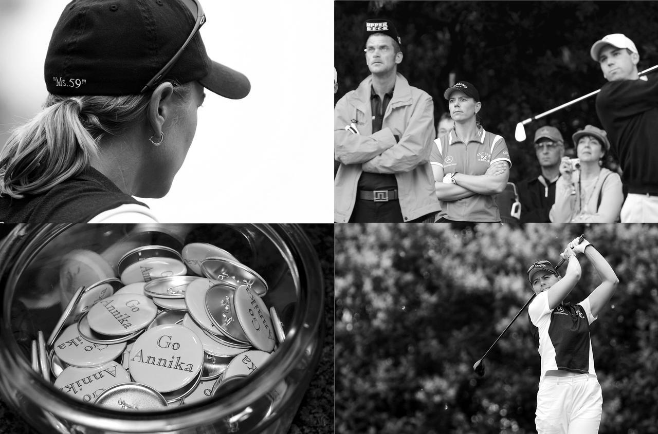 画像: 女子ツアーでは敵なしの状態だったアニカ。あまりの強さに03年にはPGAツアー「バンク・オブ・アメリカ・コロニアル」に挑戦した。96位で予選落ちとなったが、その勇気にゴルフ界は大いに盛り上がりを見せた
