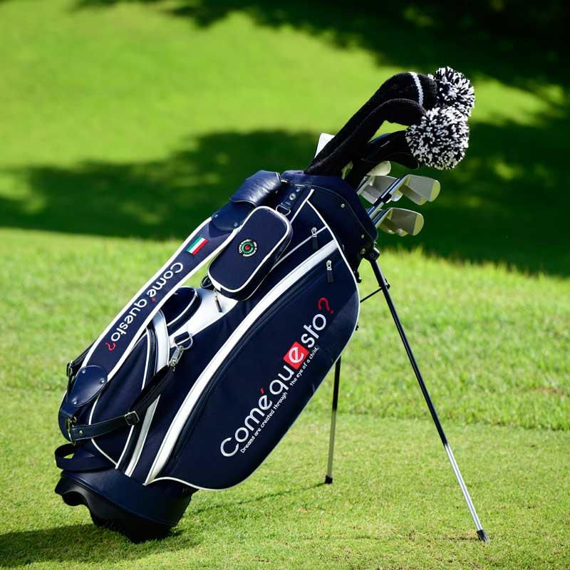 画像: NEW!コメクエスト 8.5型キャディバッグ【8月下旬のお届け】|ゴルフダイジェスト公式通販サイト「ゴルフポケット」