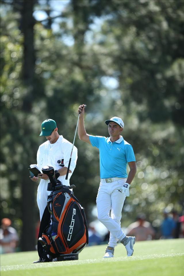 画像: リッキーのハイカットのゴルフシューズはもうお馴染みですよね~(*^_^*)