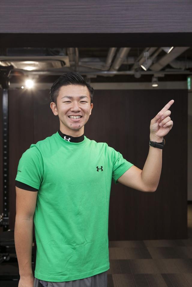 画像: プレミアムライフフィットネスパーソナルトレーナー小林慎平さん plf.s-databank.com