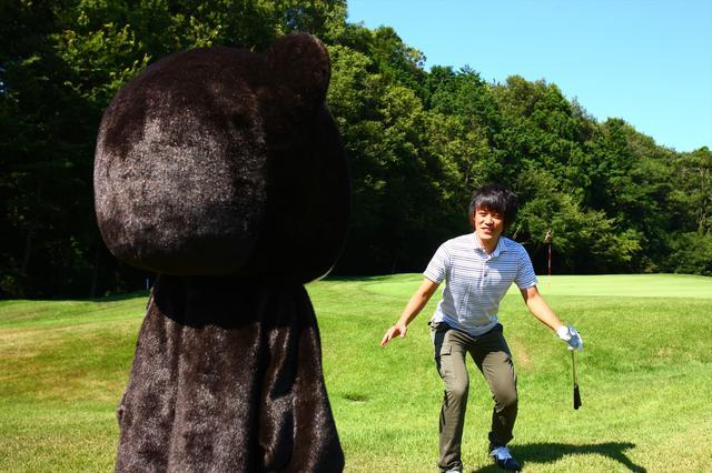 画像2: もしゴルフ場で『クマ』に遭ったら…?