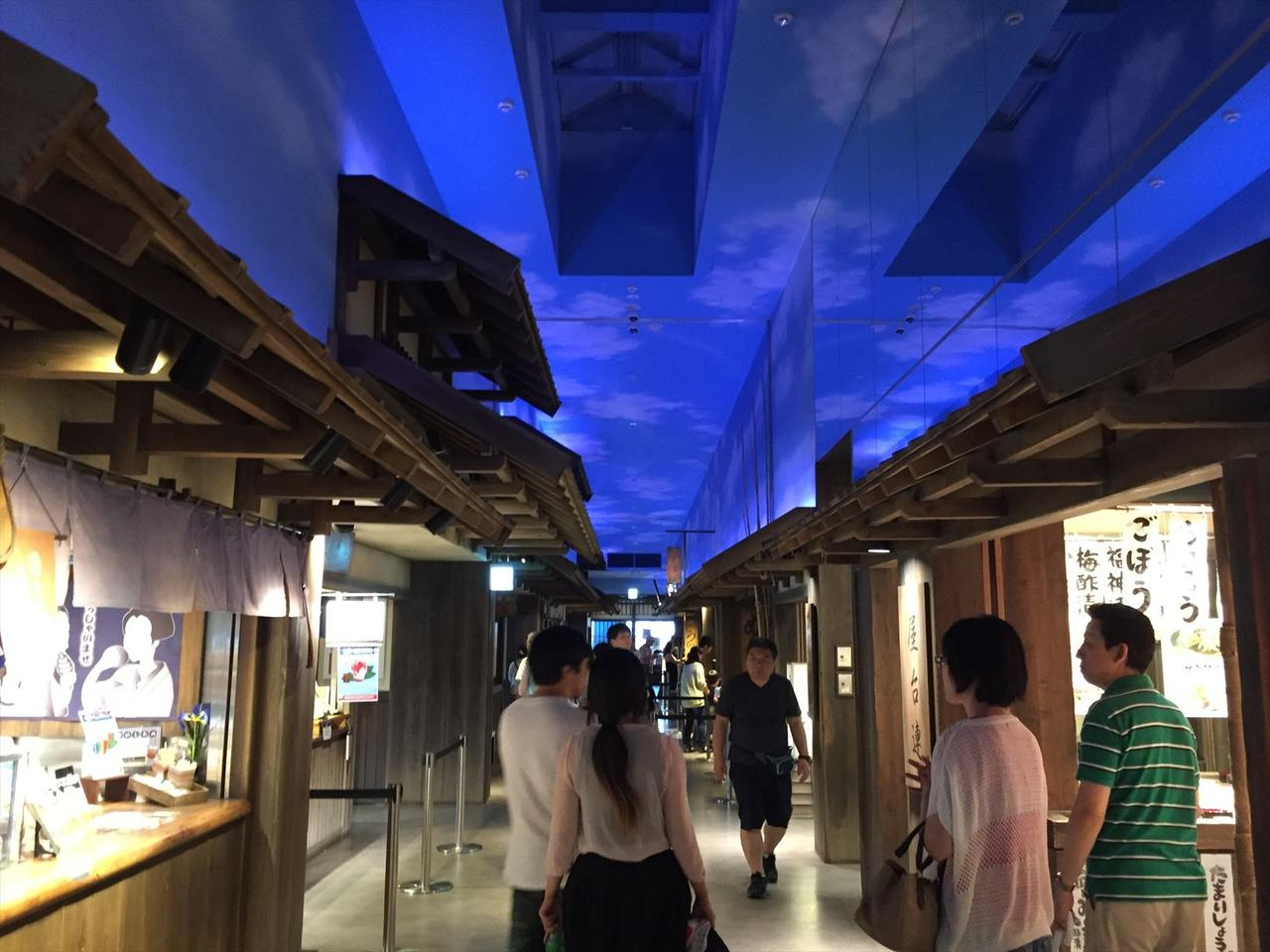 画像2: 「キミって歴女だったよね」羽生PAに江戸の街が出現した!