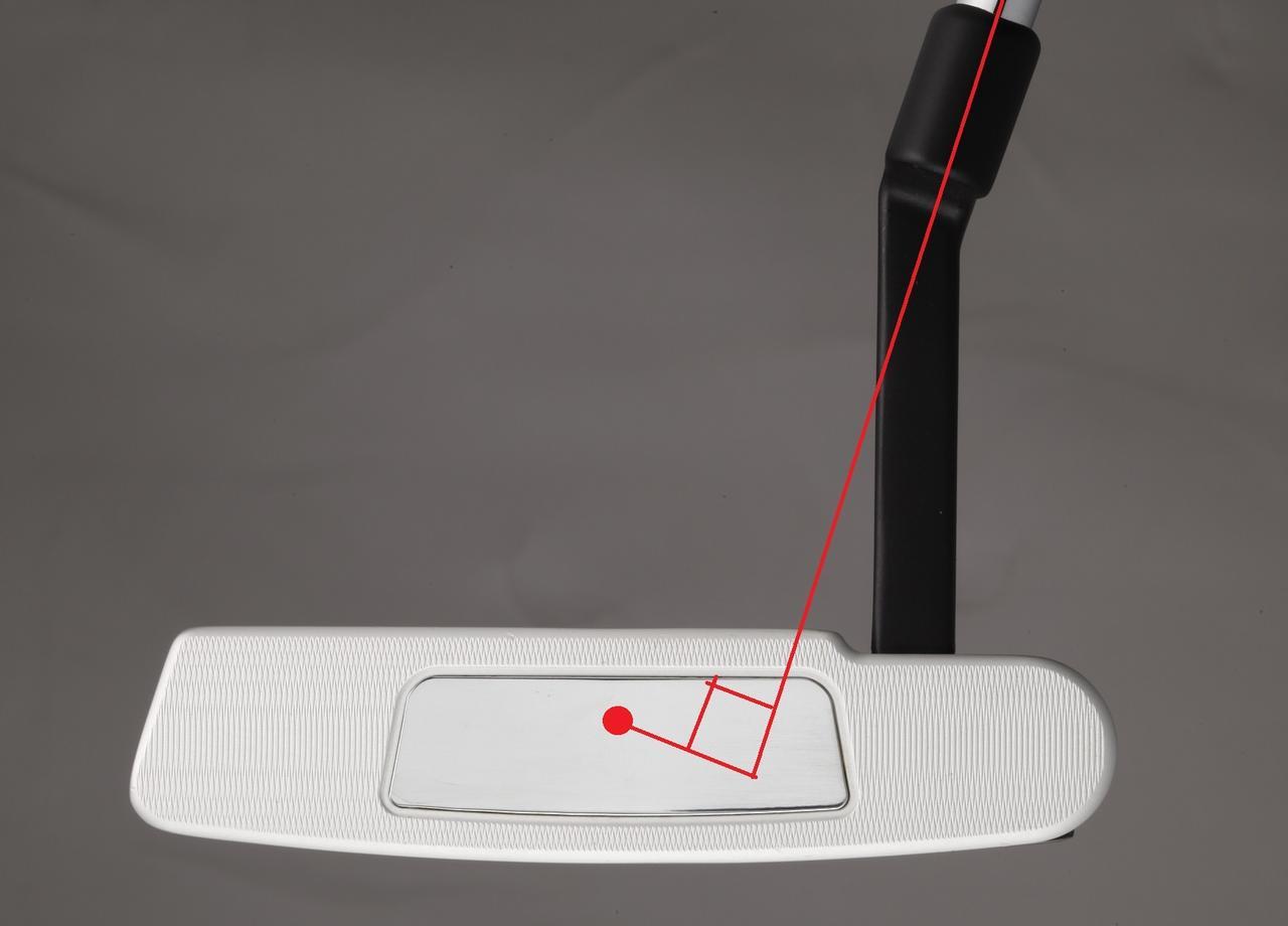 画像: クランクネックのピン型は重心距離がL字とセンターシャフトの間で15ミリ前後