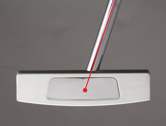 画像: センターシャフトはシャフト軸線上に芯がある状態(重心距離がゼロ)
