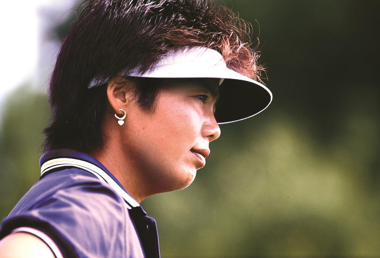 画像: 1989年の岡本綾子。全米女子プロ優勝にあと一歩届かなかった