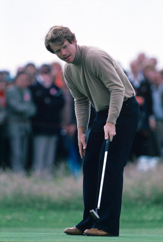 画像: 握って構えて、 しっくりこない時は 「勇気」を持って 仕切り直しなさい。 トム・ワトソン