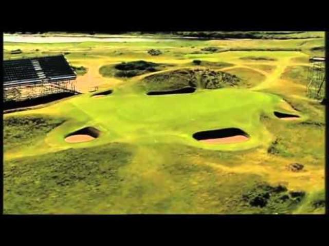画像: Hole 8: Postage Stamp - Old Course, Royal Troon Golf Club (2004) www.youtube.com