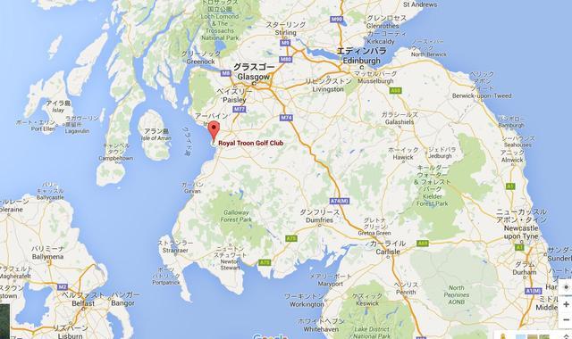 画像: スコットランド南西部に位置し、クライド湾に面する