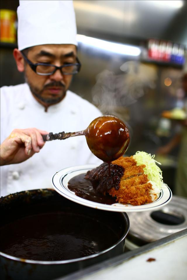 画像3: 【動画】今日はじめて「キッチン南海」でカツカレー食べたんですけど…