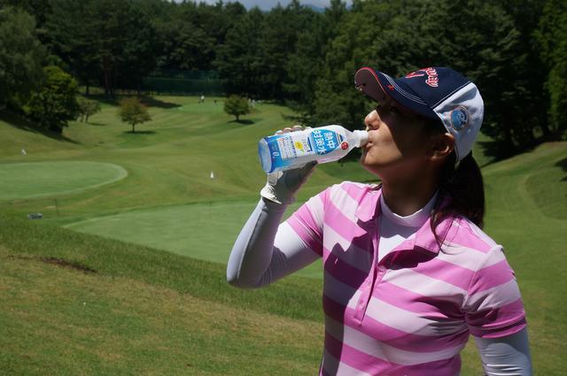 画像: 参加賞は熱中対策水