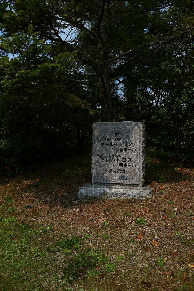 画像: ホールインワンが達成したら、記念に植樹できる。10万円が相場だそうだ。
