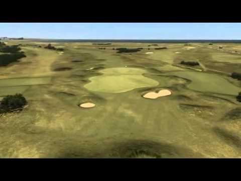 画像: The Championship Course Flyover Hole 14 - Spectacles youtu.be