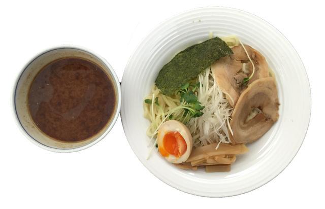 画像: 冷やし味噌つけ麺!