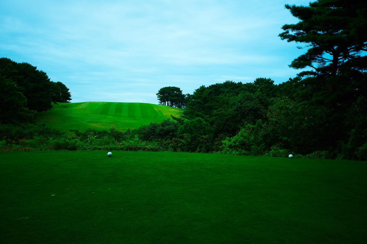 画像: 大阪GC できる限り土地に手を加えず作られたため、印象的な景観が続く。写真/中居中也
